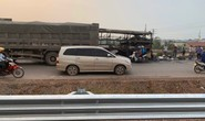 Cháy xe khách, Ban Quản lý cao tốc Bắc Giang – Lạng Sơn mở lối phân làn
