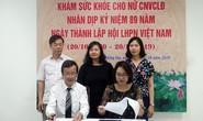Hà Nội: Gần 2.000 nữ CNVC-LĐ được khám sức khỏe miễn phí