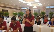 Động viên nữ công nhân bị bệnh hiểm nghèo