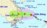 Bão khẩn cấp, giật cấp 11 đổ bộ vào Quảng Ngãi-Ninh Thuận tối nay