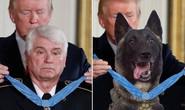 Tổng thống Trump đăng ảnh chế về chú chó dồn trùm IS vào đường cùng