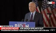 Lời tố cáo nặng nề của ông Biden đối với Tổng thống Trump