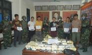Phá đường dây ma túy khủng xuyên quốc gia, bắt 6 nghi phạm và nhiều vũ khí nóng