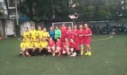 Sôi nôi giải bóng đá mini nữ Trường ĐH Y khoa Phạm Ngọc Thạch