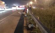 Nhóm công nhân băng qua đường cao tốc, bị xe khách tông tử vong 2 người, 1 bị thương