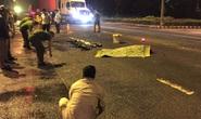 Vượt đèn đỏ, nam sinh viên bị xe container tông chết