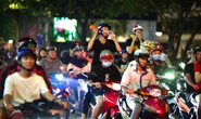 CĐV làm các tuyến đường rộn ràng khi mừng tuyển Việt Nam thắng UAE