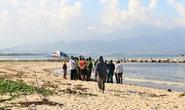 Tá hỏa phát hiện thi thể một phụ nữ dạt vào biển Đà Nẵng