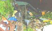 Sà lan tông ghe sắt, nhiều nhà dân ven sông tan hoang trong đêm