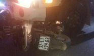 Liên hoan chia tay về, 3 thanh niên đi xe máy thương vong khi tông nhau với xe tải