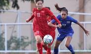 Tuyển bóng đá nữ Việt Nam - Thái Lan: 1-1: Bài học đắt giá về không chiến