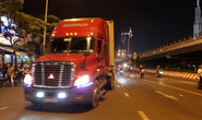 Vụ xe tải nặng tung hoành vào giờ cấm: Thanh tra giao thông mở đợt cao điểm xử lý