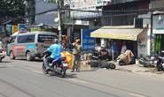CLIP: Chạy song song xe tải, một cô gái bị cán tử vong ở TP HCM