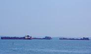 Điều tra vụ 3 sà lan lén khai thác cát trên biển Cần Giờ