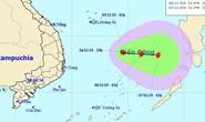 Áp thấp nhiệt đới khả năng mạnh lên thành bão giật cấp 11 trên Biển Đông