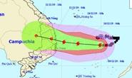Bão số 6 giật cấp 15 tăng tốc vào Nam Trung bộ, sóng biển cao 7-8 m