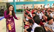 Nghệ sĩ Thanh Hằng xúc động vì học sinh yêu dân ca