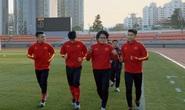 Chùm ảnh U23 Việt Nam luyện công, Quang Hải háo hức tập luyện trong giá lạnh