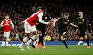 Sao Bỉ chói sáng, Man City đè bẹp Arsenal tại Emirates