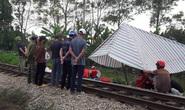 Băng qua đường sắt đi vệ sinh, người phụ nữ bị tàu hỏa tông tử vong
