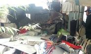 Xe container tông sập phòng ngủ nhà dân lúc rạng sáng