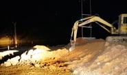 Bí ẩn đơn vị thi công sập hố móng cầu khiến 2 người chết