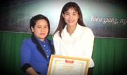 Kiên Giang vinh danh nữ trung vệ quả cảm Chương Thị Kiều