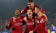 Leicester tặng quà, Liverpool giành ngôi vô địch mùa Đông