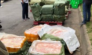 Xe siêu thị MM Mega Market chở hàng tấn thực phẩm đông lạnh nhập lậu?