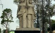 Đã khắc phục tượng đài mất nét chữ