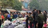 Cháy cửa hàng giày dép sát chợ Vườn Hoa ngày 27 Tết, tiểu thương hú vía