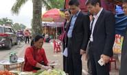 Kiểm tra an toàn thực phẩm tại đền Trần trước lễ khai ấn