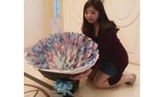 Trào lưu tặng bó hoa tiền giấy trong ngày Valentine