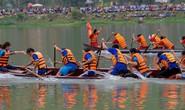 Độc đáo giải đua thuyền giữa lòng hồ thủy điện