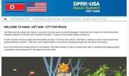 Lập trung tâm báo chí cho thượng đỉnh Mỹ-Triều tại Cung văn hóa hữu nghị