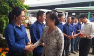 Lãnh đạo TP HCM thăm và chúc Tết công nhân Công ty VWS