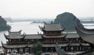 Cận cảnh ngôi chùa lớn nhất thế giới ở vịnh Hạ Long trên cạn