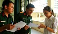 Thông tin quan trọng dành cho thí sinh dự thi trường quân đội năm 2019