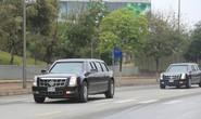 Chuyên xa Quái thú của Tổng thống Donald Trump chạy về  Hà Nội