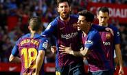Messi lập siêu phẩm, Barcelona đại thắng Sevilla