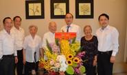 Bí thư Thành ủy TP HCM Nguyễn Thiện Nhân thăm 2 nguyên Thứ trưởng Bộ Y tế