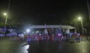 Dựng rạp cho phóng viên trú mưa qua đêm chờ đón Chủ tịch Kim Jong-un tại Đồng Đăng