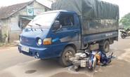 Xe tải chở gỗ bỏ chạy, tông 2 CSGT bị thương