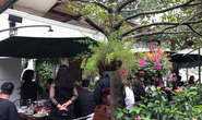 Đoàn Triều Tiên ăn trưa ở nhà hàng lọt tốp đẹp nhất Hà Nội