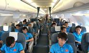 Bật mí những chuyến bay như chuyên cơ đưa tuyển Việt Nam du đấu