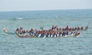 Lễ hội đua thuyền tứ linh đầu Xuân ở Lý Sơn thu hút du khách
