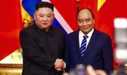 Cận cảnh Thủ tướng Nguyễn Xuân Phúc tiếp Chủ tịch Kim Jong-un