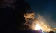 Cháy lớn tại một nhà xưởng ngoại ô TP HCM