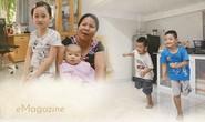 [eMagazine] - Cuộc sống 3 đứa trẻ có cha mẹ chết dưới bánh xe container đã đổi thay