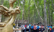 Cán bộ Công đoàn TP HCM thăm Rừng Sác